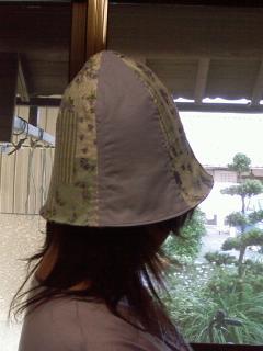 帽子ができた♪